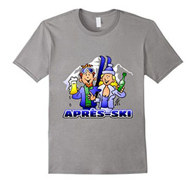 Apres-Ski T-Shirt bij Amazon Merch