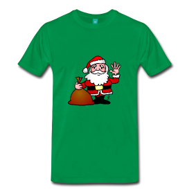 Kerstman T-shirt