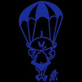 Baby on a parachute mc