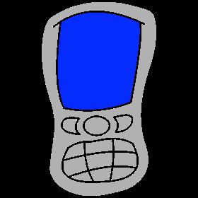 Oldskool mobile phone bc