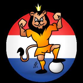 Orange soccer lion fc