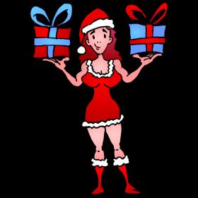 Santa's sexy helper fc