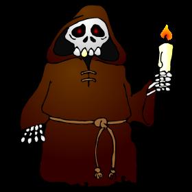 Skeleton monk fc
