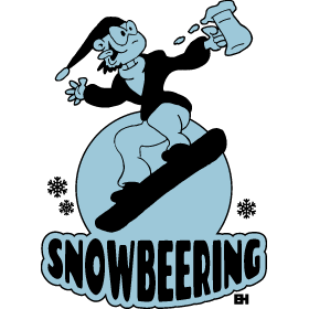Snowbeering or snowboarding bc