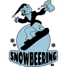 Snowbeering or snowboarding bc