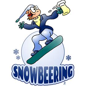 Snowbeering or snowboarding fc