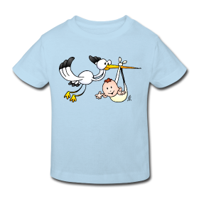 The stork brings a baby