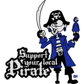 Support your local pirate tc