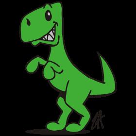 T-Rex, the king dinosaur tc