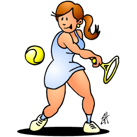 Tennis girl III fc